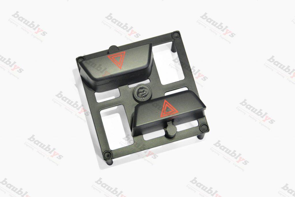 Infrared laser-automotive keys marking
