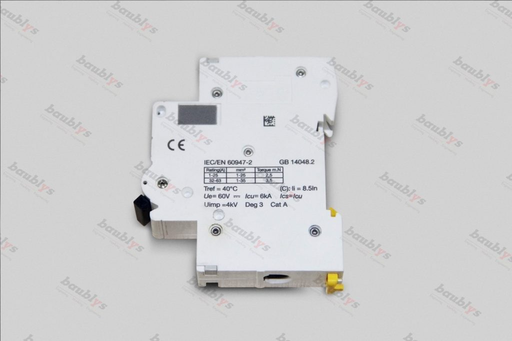 marking on air switch